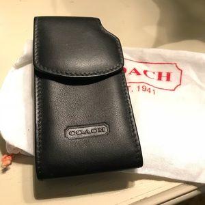 Coach Leather Phone Case